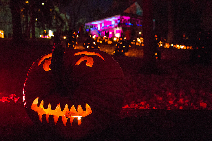 The Great Jack O'Lantern Blaze at Van Cortlandt Manor by John Morzen