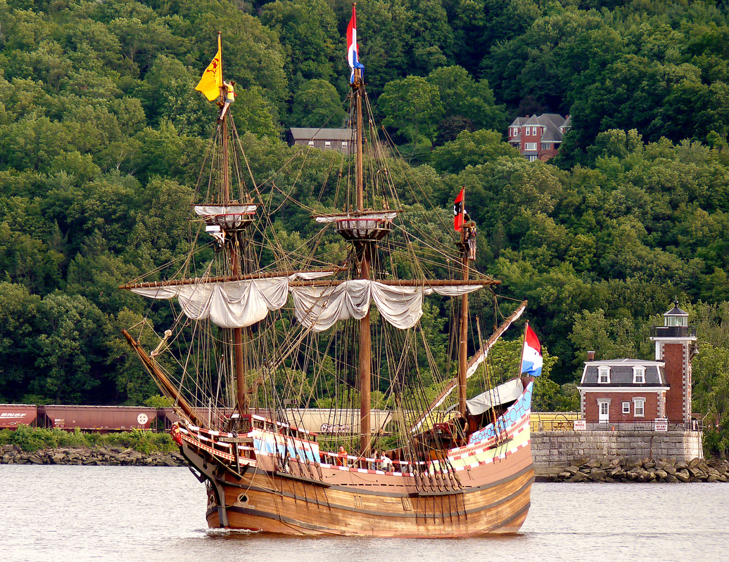 Half Moon Replica on the Hudson River, taken by Kevin Trabucco
