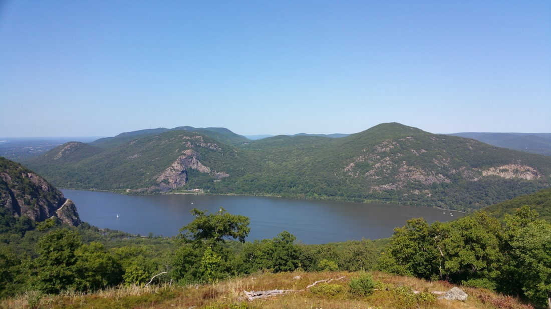 View from Storm King Mountain by RW Sayler