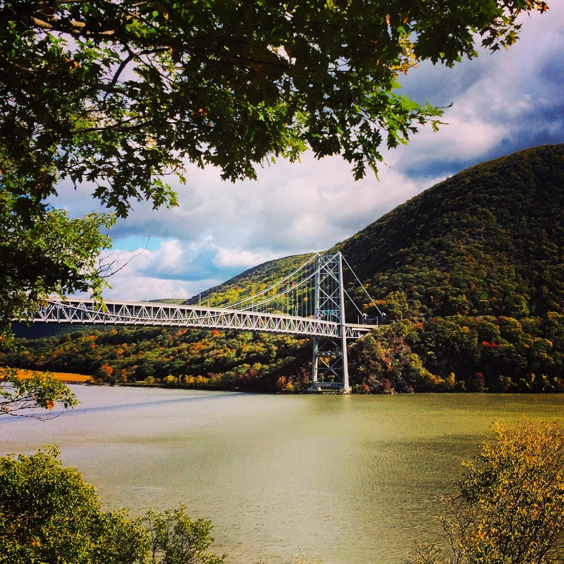 Bear Mountain Bridge from Bear Mountain State Park by Ashley Eisner