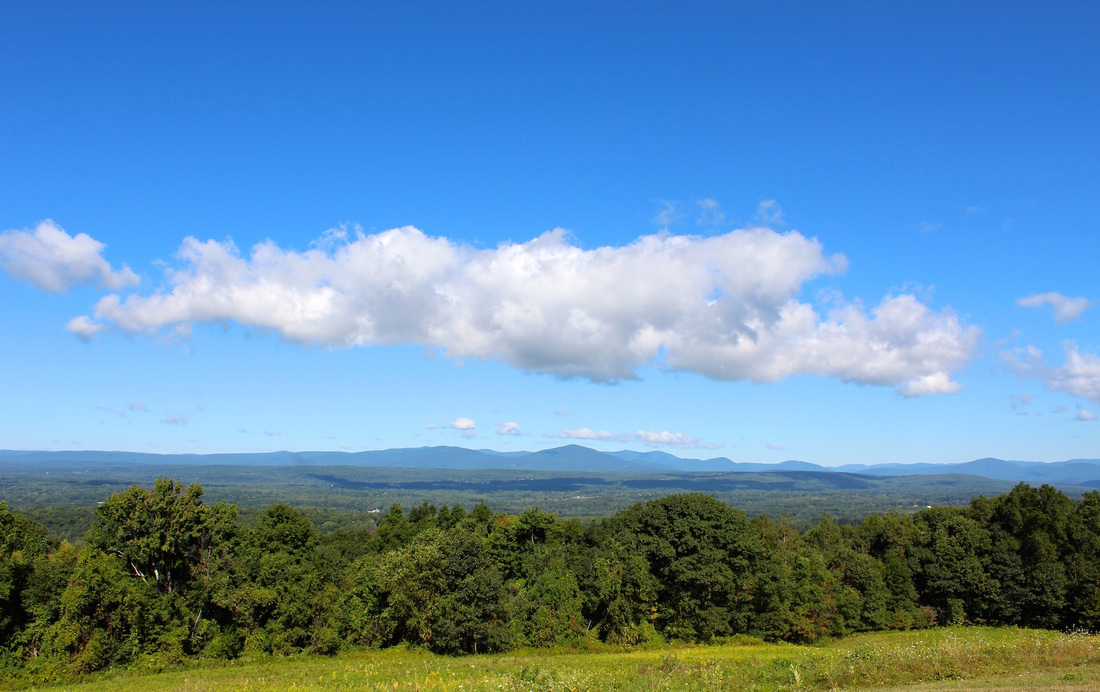 Mountain View from the Mohonk Preserve, Ulster County